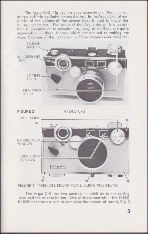 Argus C3 and C4 Shutter Service