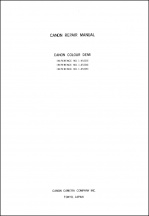 Canon Demi Service Manual