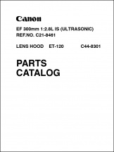 Canon EF 300mm f2.8L IS Parts Catalog