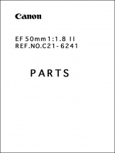 Canon EF 50mm f1.8 II Parts Catalog