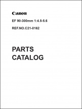 Canon EF 90-300mm f4.5-5.6 Parts Catalog