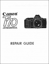 Canon T70 Service Manual