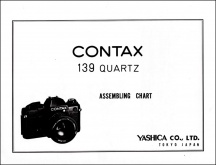 Contax 139 Assembly Chart