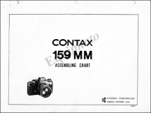 Contax 159MM Assembly Chart
