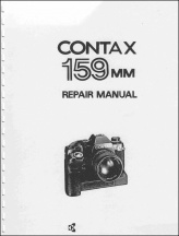 Contax 159MM Repair Manual
