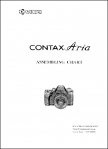 Contax Aria Assembly Chart