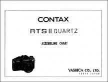 Contax RTS II Assembly Chart