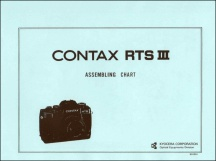 Contax RTS III Assembly Chart