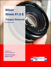 Nikkor 50mm f1.8 Series-E Cleaning Tutorial