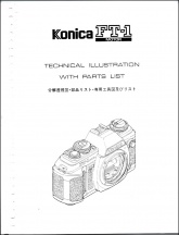Konica FT-1 Motor Parts List