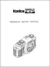 Konica FT-1 Motor Service Manual