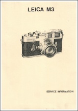 Leica M3 Repair Manual