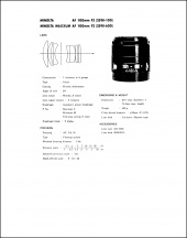 Minolta AF 100mm f2 Service Manual