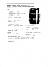 Minolta AF 100mm f2.8 Macro Service Manual