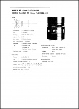 Minolta AF 135mm f2.8 Service Manual