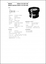 Minolta AF 20mm f2.8 Service Manual