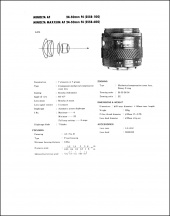 Minolta AF 24-50mm f4 Service Manual