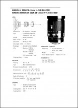 Minolta AF 28-135mm f4-4.5 Service Manual