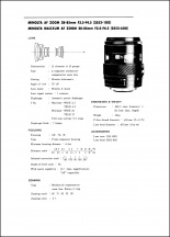 Minolta AF 28-85mm f3.5-4.5 Service Manual