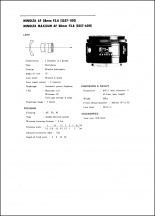 Minolta AF 28mm f2.8 Service Manual