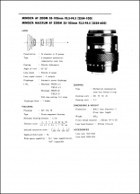 Minolta AF 35-105mm f3.5-4.5 Service Manual