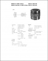 Minolta AF 35-80mm f4-5.6 Service Manual