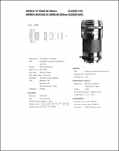 Minolta AF 80-200mm f2.8 Service Manual