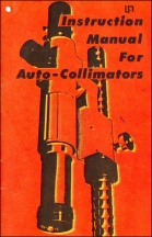 Auto Collimators Instructions