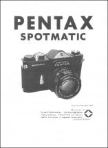 Pentax Spotmatic Repair Guide