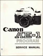 Canon AE-1 Program Service Guide