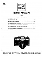 Olympus OM-G Service Manual and Parts List