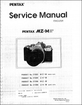 Pentax MZ-M and ZX-M Service Manual