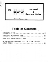 SPT Journal: January-February 1984