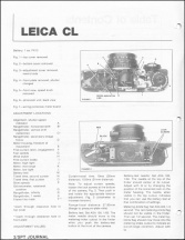 Leica CL Repair Article