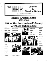 SPT Journal: November-December 1984