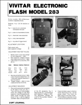 Vivitar 283 Repair Article