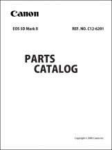 Canon EOS 5D mark II Parts Catalog