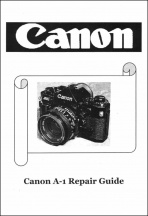 Canon A-1 Service Manual