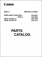 Canon EOS-3 Parts Catalog