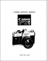 Canon FTb and TLb Service Manual