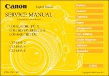 Canon EOS-400D Service Manual