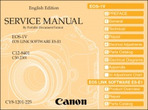 Canon EOS-1V Service Manual