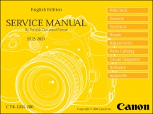 Canon EOS-20D Service Manual