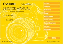 Canon EOS-40D Service Manual