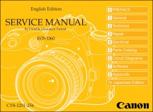 Canon EOS-D60 Service Manual