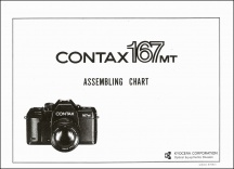 Contax 167MT Assembly Chart