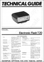 Olympus T-20 Flash Technical Guide