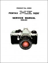 Pentax ME Super Service Manual