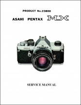 Pentax MX Service Manual