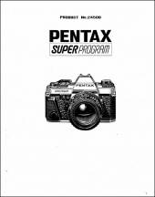 Pentax Super Program Service Manual